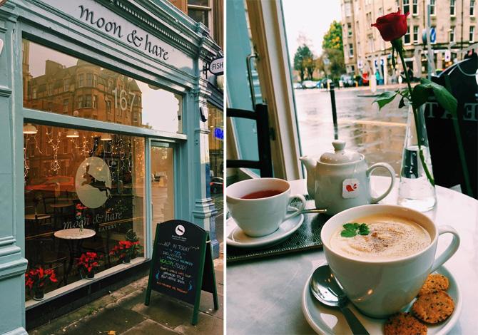 moon & hare edinburgh cafe