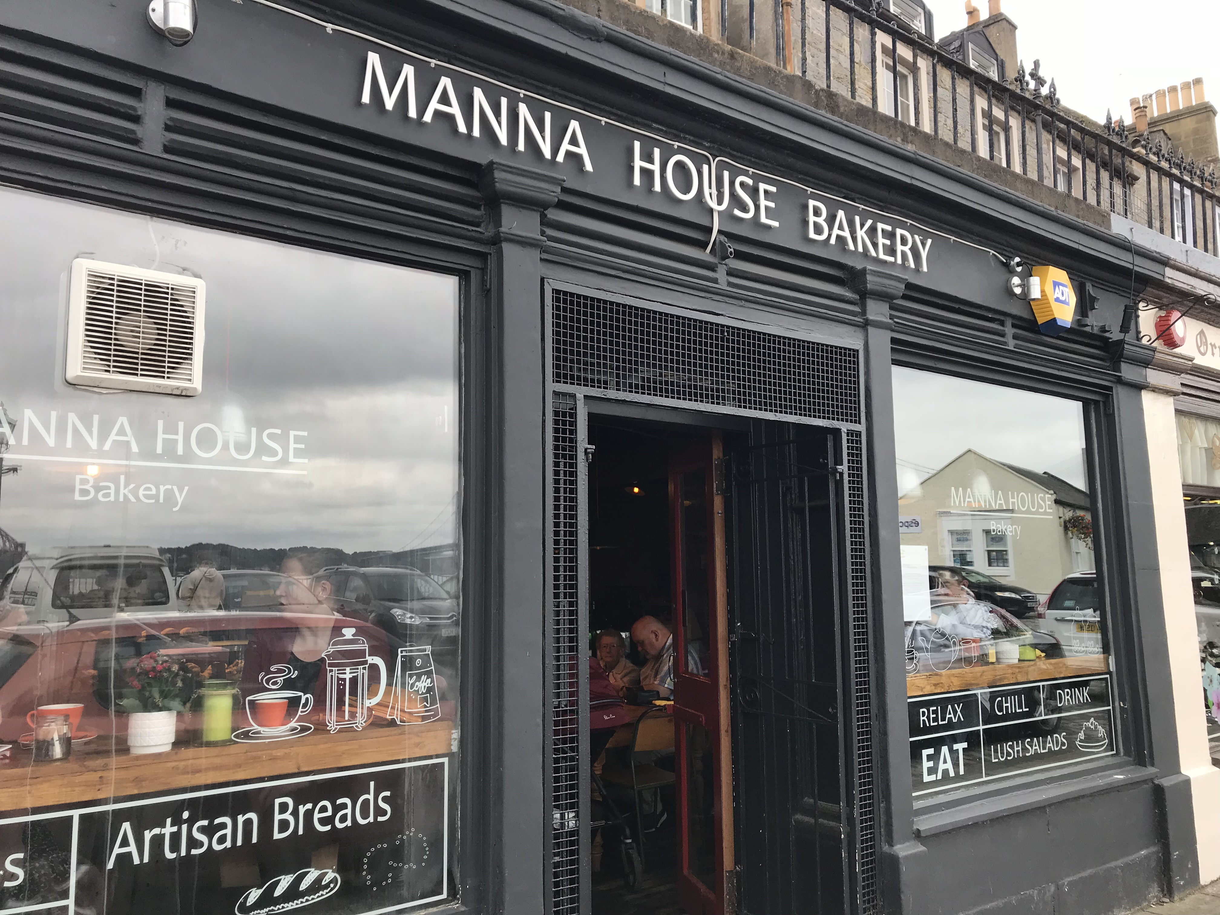 The Manna House Bakery in South Queensferry